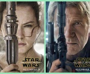 STAR WARS: THE FORCE AWAKENS Trailer & New Movie posters
