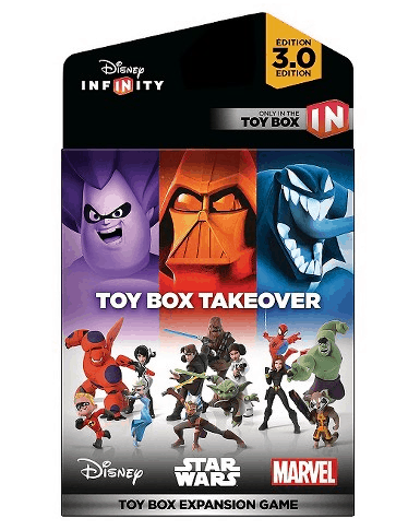 Disney Infinity 3.0 Edition Toy Box Takeover Expansion Game $19.99