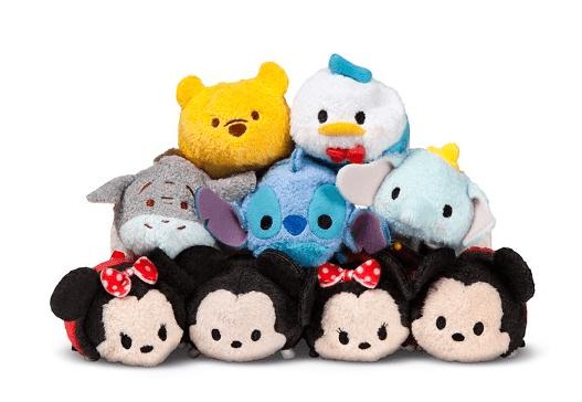 "Disney Tsum Tsum Mini 3.5"" Plush Collection $49.01"