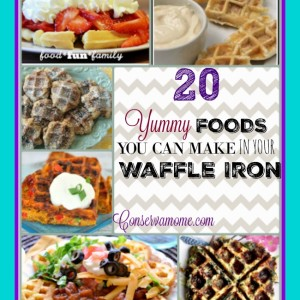 20 Yummy Foods You Can Make In Your Waffle Iron