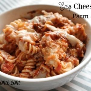 Easy Cheesy Chicken Parm Bake