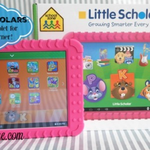 Little Scholar Kids Tablet Review &  Giveaway ends 3/7