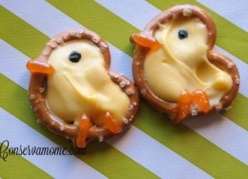 Easter Pretzel Chick