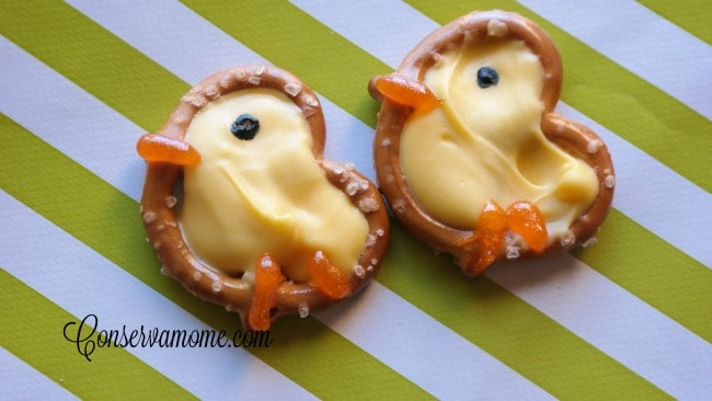 DIY Pretzel Chicks