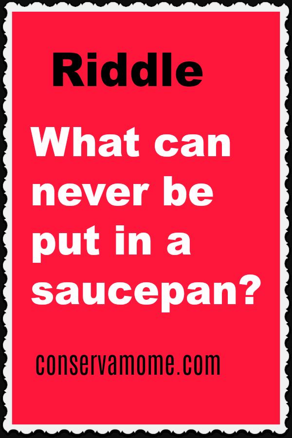 Fun riddle
