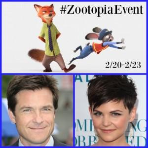 Follow Me On #ZootopiaEvent for Disney's Zootopia!