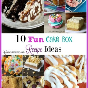10 Fun Cake Box Recipe Ideas