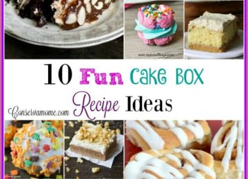 Easy to make Cake box recipe ideas