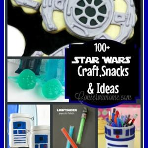 100+ Star Wars Craft,Snacks & Ideas