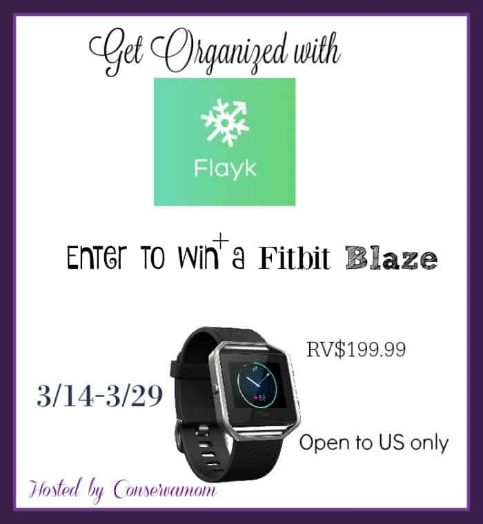 Enter to win the FitBit Blaze Giveaway. Ends 3/29