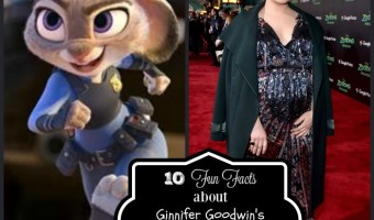 10 Fun Facts about  Ginnifer Goodwin's Role as Judy Hopps in Disney's Zootopia