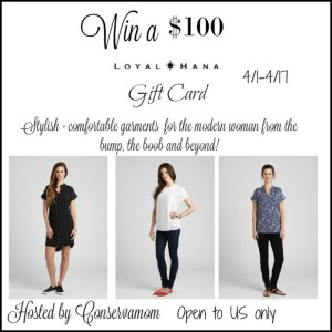 Loyal Hana $100 Gift Card Giveaway ends 4/17