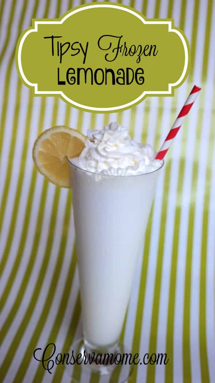 Are you looking for a delicious Adult Lemonade? Than look no further than this delicious Tipsy Frozen Lemonade! Perfect for a fun summer afternoon!