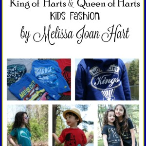 Fashion & Fun with King of Harts & Queen of Harts Kids Fashion by Melissa Joan Hart