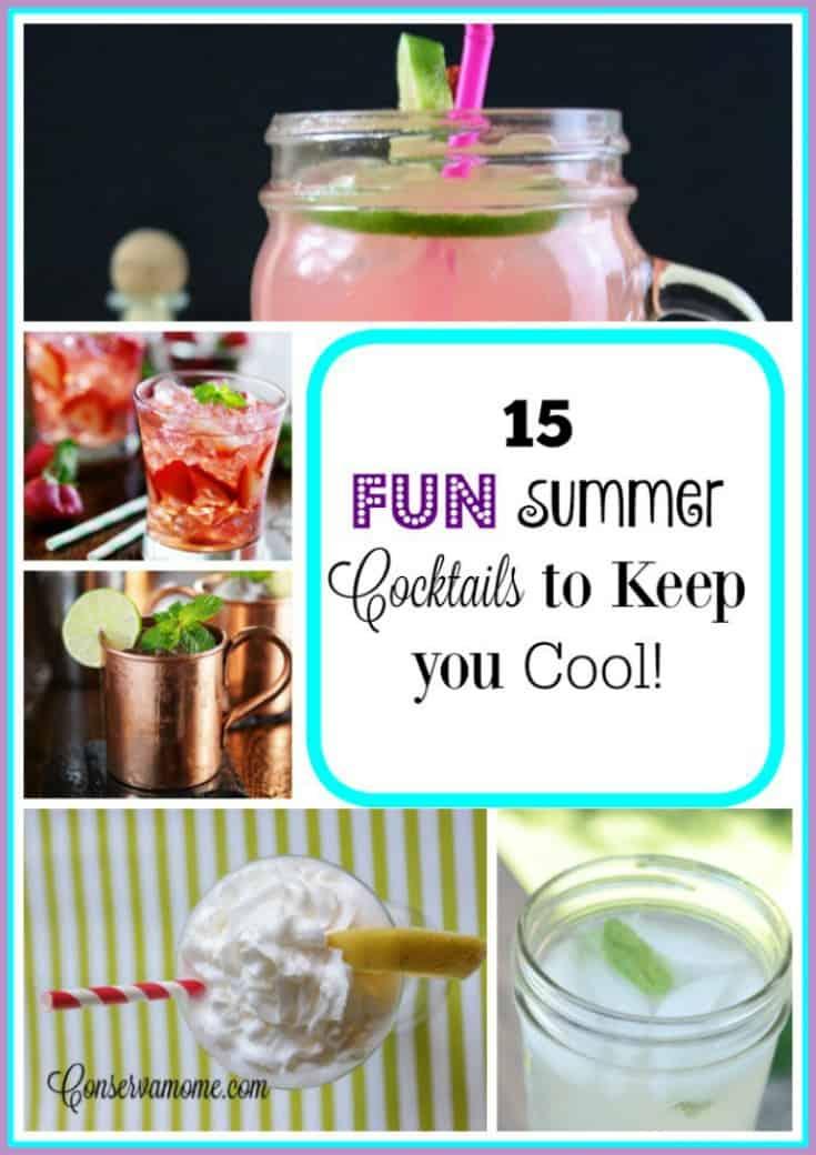 15 Fun And Easy Sewing Projects For Kids: 15 Fun Summer Cocktails To Keep You Cool!