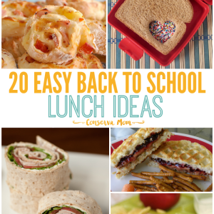 20 Easy Back to School Lunch Ideas
