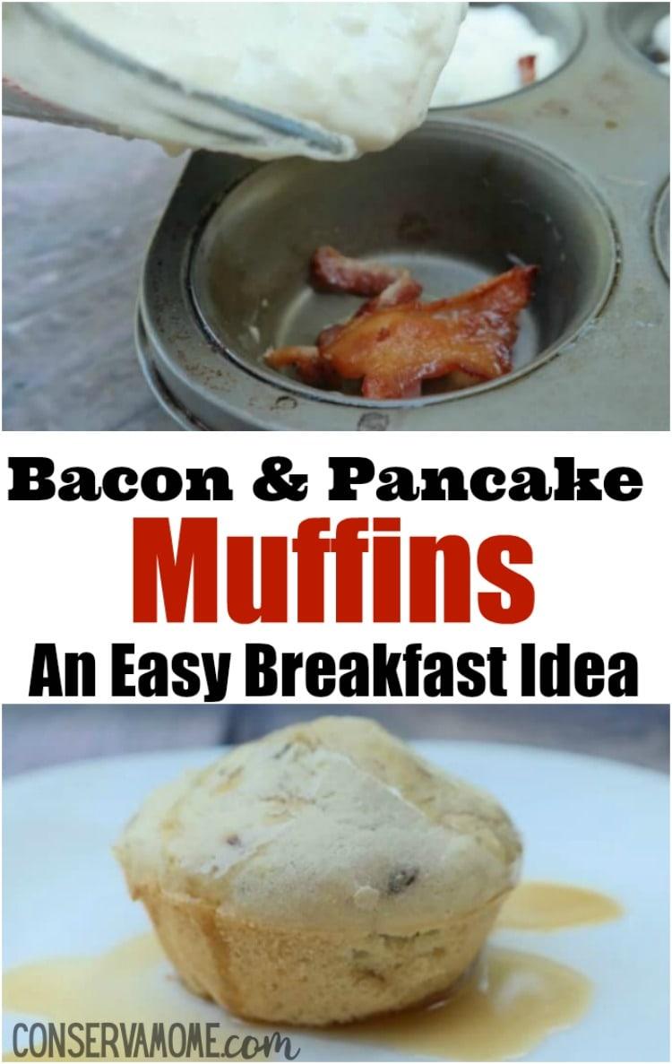 Bacon & Pancake Muffins