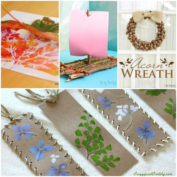 40 Creative Nature Crafts For Kids Conservamom