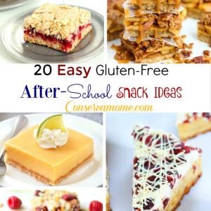 20 Easy Gluten-Free Snack Ideas