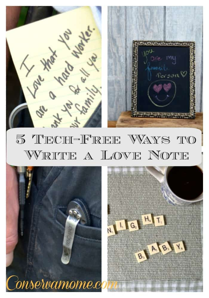Ways to Write a Love Note