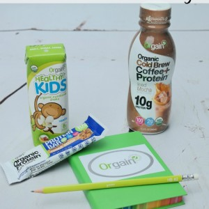 Back to School Survival Kit with Orgain + Giveaway