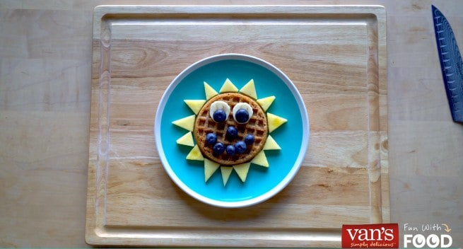 Start your day with a delicious breakfast from Van's with this $100 Visa Gift Card & Van's Back to School giveaway valued at over $325! Sunshine Waffles