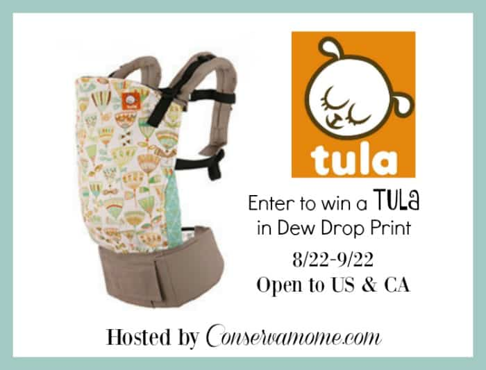 Enter to Win a TULA Baby Carrier!