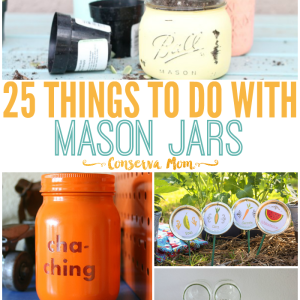 25 Things to do with Mason Jars