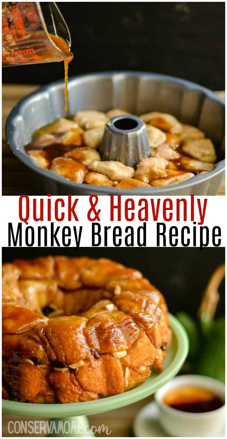 Quick and Heavenly Monkey Bread recipe