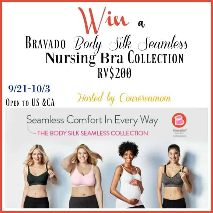 4cff716024 Bravado Designs Body Silk Seamless Nursing Bra Collection Giveaway (RV 200)  ends 10 3