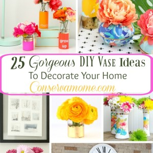 25 Gorgeous DIY Vase Ideas To Decorate Your Home