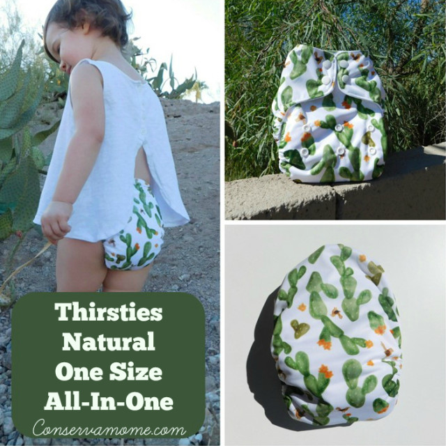 Check out the Thirsties All Natural One Size All In One Cloth Diaper Review