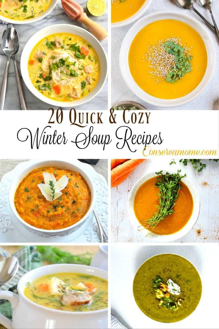 20 Quick & Cozy Winter Soup Recipes