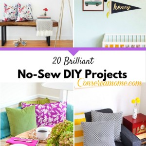 20 Brilliant No-Sew DIY Projects