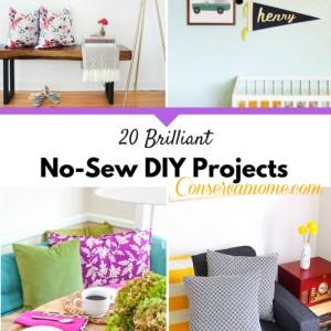 20 Brilliant No-Sew DIY Projects