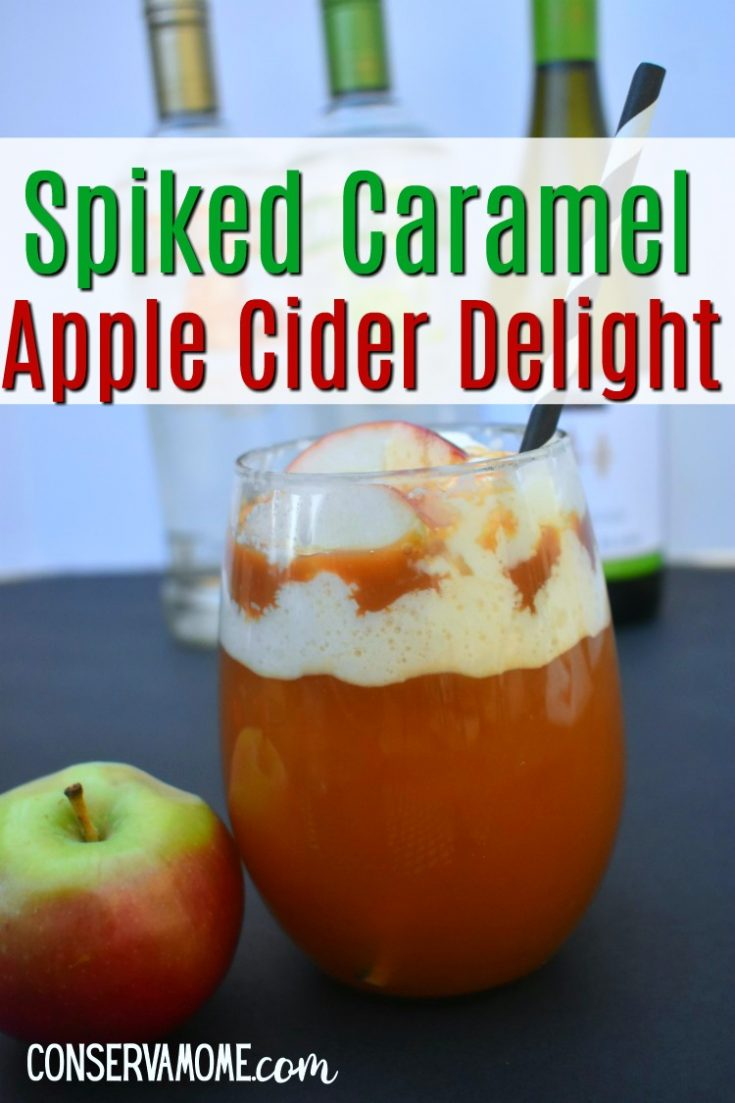 This delicious Spiked Caramel Apple Cider Delight is a refreshing fall treat that is perfect for an afternoon treat, a party drink or just because. Easy to make, capturing all the favorite fall flavors in a delicious Fall Cocktail.