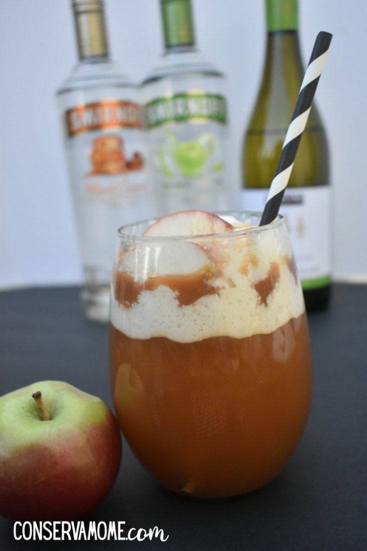 Spiked Caramel Apple Cider Delight : Delicious Fall Cocktail