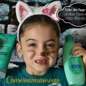 Take the Fear out of Hair Care with  JOHNSON'S NO MORE TANGLES #TangleTalk