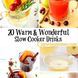 20 Warm & Wonderful Slow Cooker Drinks