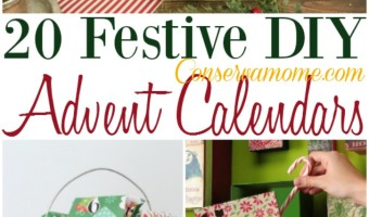 20 Festive DIY Advent Calendars
