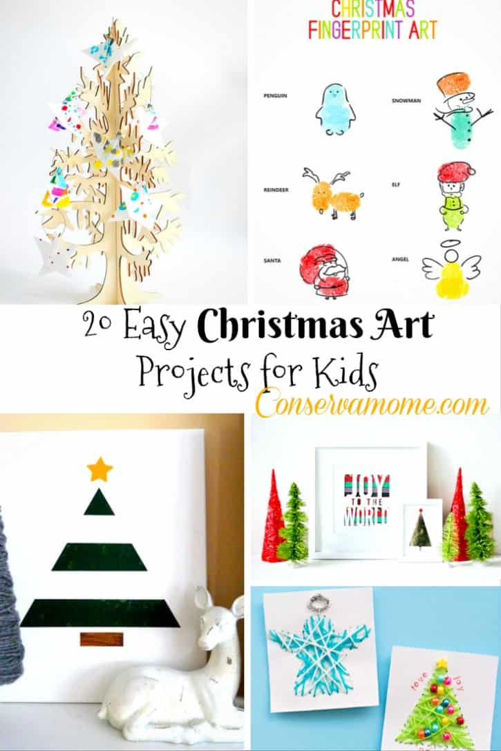 Easy Christmas Art Projects for Kids