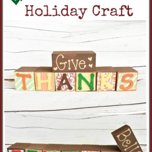 Easy Two In One Holiday Craft