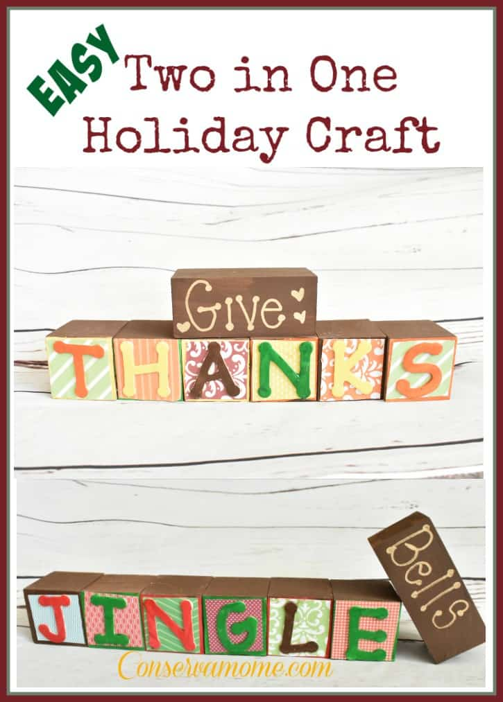 Two In One Holiday Craft