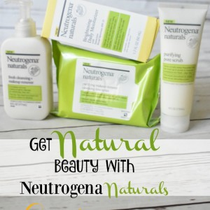Get Natural Beauty With Neutrogena Naturals