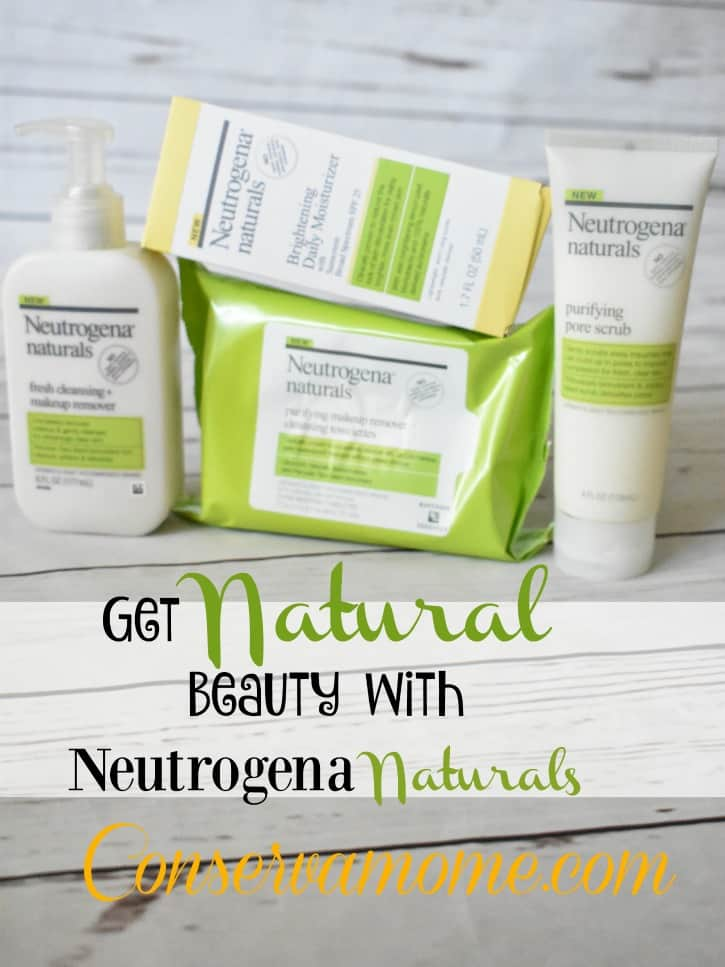 Get Natural Beauty With Neutrogena Naturals - ConservaMom