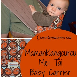 MamanKangourou Mei Tai Baby Carrier Review + Giveaway
