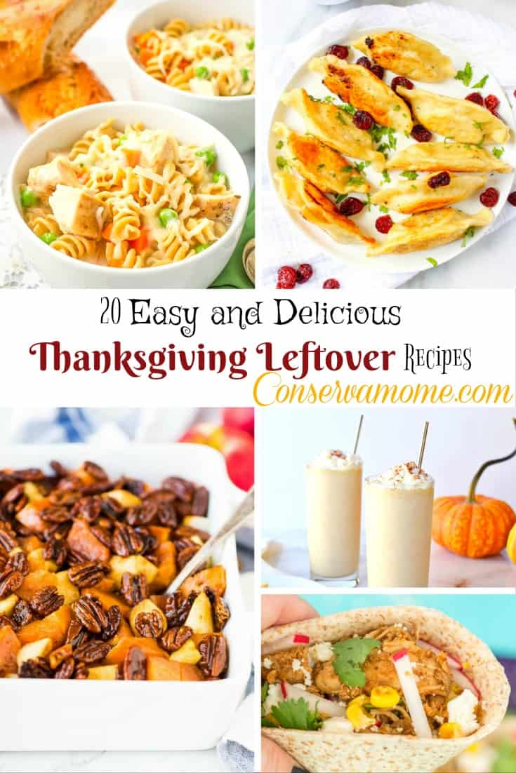 This fun round up of 10 Easy and delicious Thanksgiving Leftover Recipes will be a hit in your home. Don't settle for Turkey sandwiches, think outside the box!