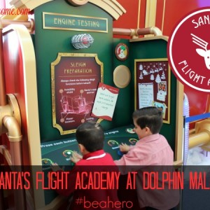 Santa's Flight Academy at Dolphin Mall #beahero