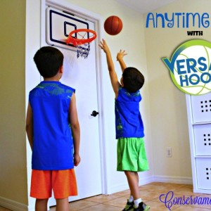 Anytime Fun with VersaHoop XL Mini Basketball Hoop!