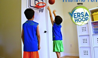 Anytime Fun with VersaHoop XL Mini Basketball Hoop!